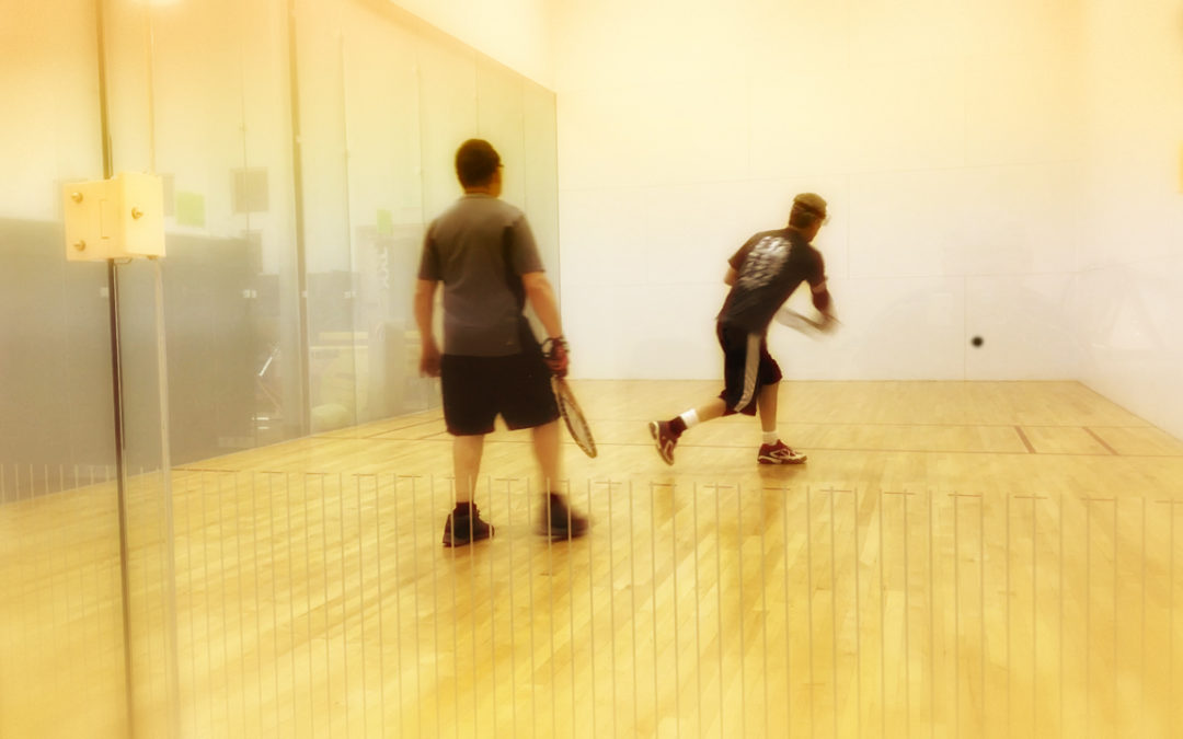 Your First Racquetball Lesson: Positioning
